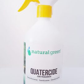 Quatercide – Natural green